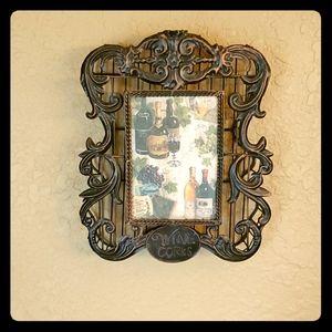 Picture Frame Wine Cork Holder